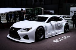 2014 Lexus RC GT3 concept. Image by Newspress.