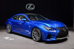 2014 Lexus RC F. Image by Newspress.