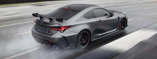 Lexus RC F Track Edition inbound. Image by Lexus.