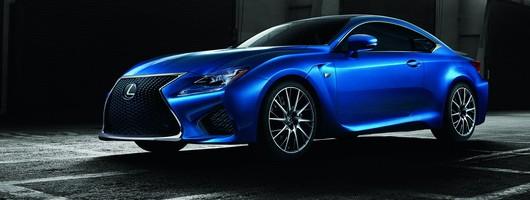 RC F wades into super coupé battle for Lexus. Image by Lexus.