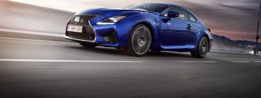 First drive: Lexus RC F. Image by Lexus.