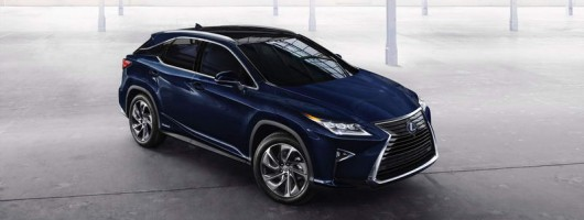 Sharper, all-new RX SUV revealed by Lexus. Image by Lexus.