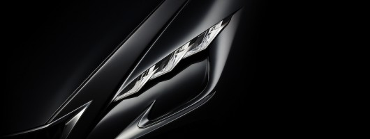 Tokyo concept car teased by Lexus. Image by Lexus.