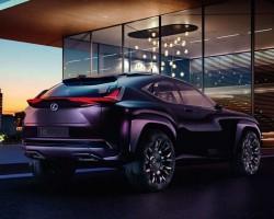 2016 Lexus UX concept. Image by Lexus.
