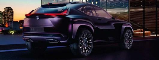 Lexus lines up UX Concept for Paris. Image by Lexus.