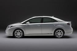 2009 Lexus HS 250h. Image by Lexus.