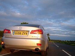 2007 Lexus IS. Image by James Jenkins.