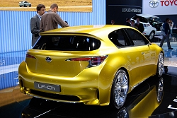 2009 Lexus LF-Ch concept. Image by Kyle Fortune.