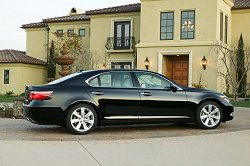 Lexus LS600h image gallery. Image by Lexus.