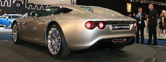 British Motor Show: Lightning GT. Image by Shane O' Donoghue.