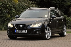 2010 SEAT Exeo ST. Image by Max Earey.