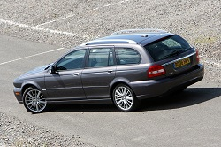 2008 Jaguar X-Type Estate. Image by Syd Wall.
