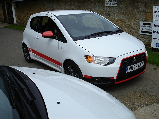 The Car Enthusiast Image Gallery 2009 Mitsubishi Colt Ralliart