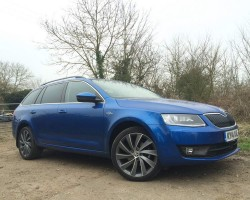 Our long term test Skoda Octavia Estate. Image by Adam Towler.
