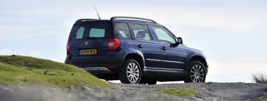 Final report: Skoda Yeti 4x4. Image by Max Earey.