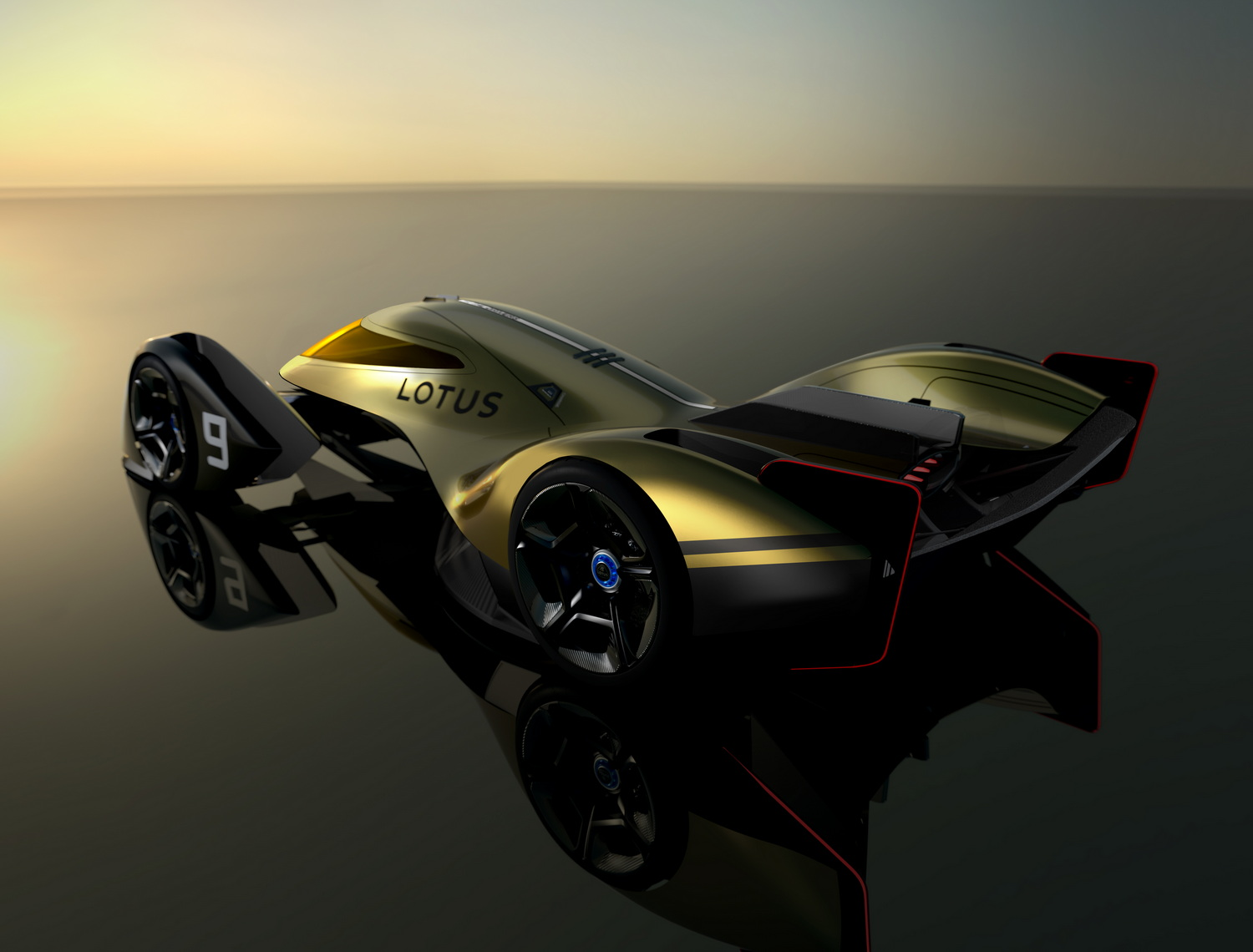 Lotus previews enduro-racer of the future. Image by Lotus.