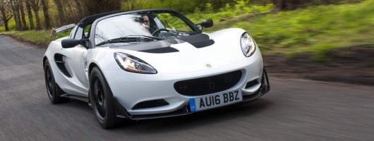 First drive: Lotus Elise Cup 250. Image by Lotus.