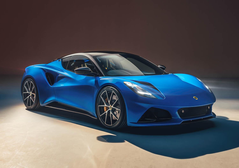 Lotus Emira points to British firm's future. Image by Lotus.