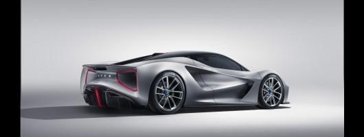 Lotus Evija joins electric hypercar ranks. Image by Lotus UK.