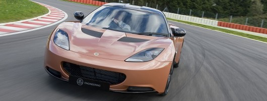 First drive: Lotus Evora 414E prototype. Image by Lotus.