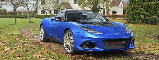 Lotus evolves Evora into brutal GT410 Sport. Image by Lotus.