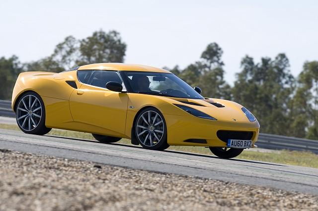 First Drive: Lotus Evora S. Image by Lotus.