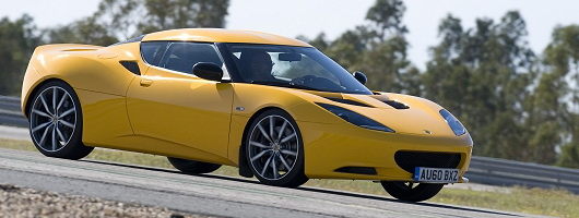 First Drive: Lotus Evora S. Image by Lotus.