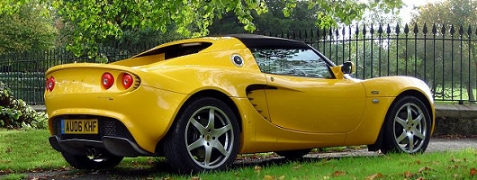 Lotus defines what is meant by Less is More. Image by James Jenkins.