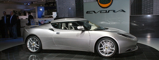Lotus unveils and names the Evora. Image by Shane O' Donoghue.