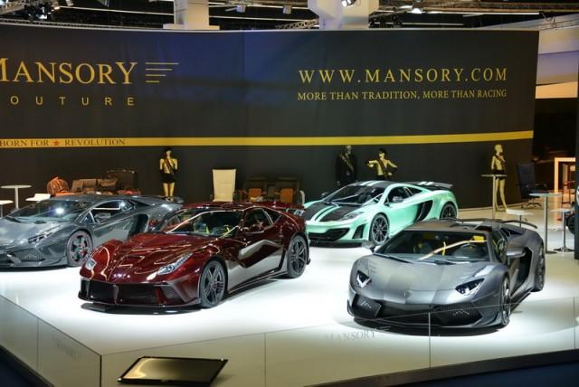 Mansory at Frankfurt. Image by Newspress.