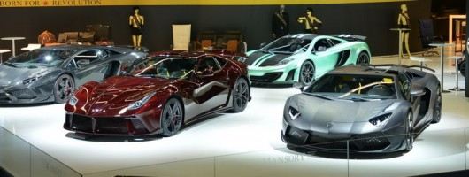 Mansory at Frankfurt. Image by Newspress.