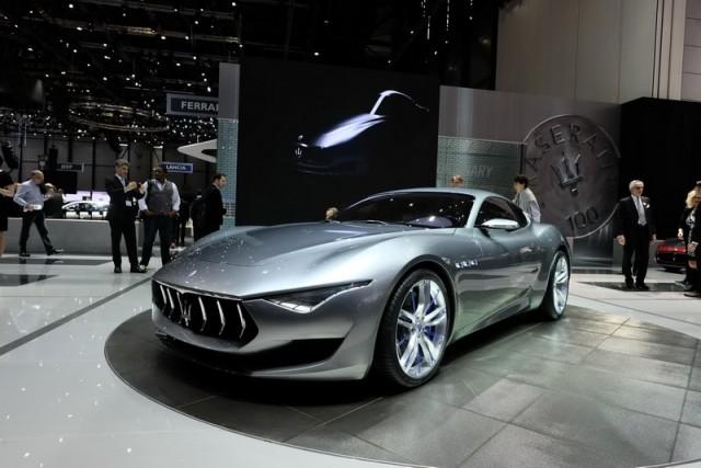 Stunning new Maserati concept. Image by Newspress.