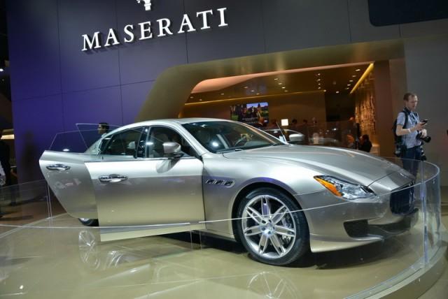 Frankfurt Motor Show: two new Maseratis. Image by Newspress.
