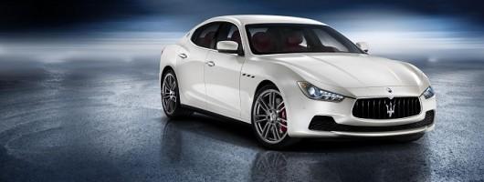 Maserati Ghibli unveiled. Image by Maserati.