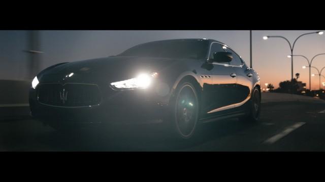 Maserati strikes during Super Bowl. Image by Maserati.