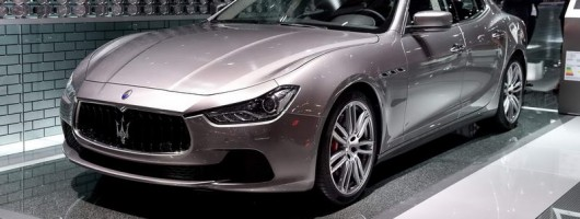 New Maserati 'concept'. Image by Newspress.