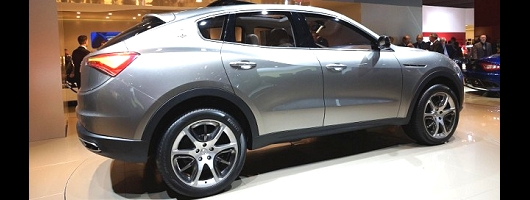 Surprising: Jeep-based Maserati Kubang. Image by Newspress.
