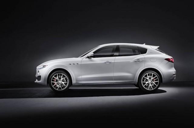 Maserati Levante blazes marque's SUV trail. Image by Maserati.