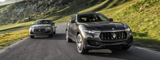 Maserati adds petrol V6 to Levante UK line-up. Image by Maserati.