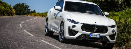 First drive: Maserati Levante S GranSport. Image by Maserati.