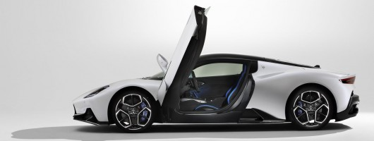Maserati goes nuclear with MC20 supercar. Image by Maserati.