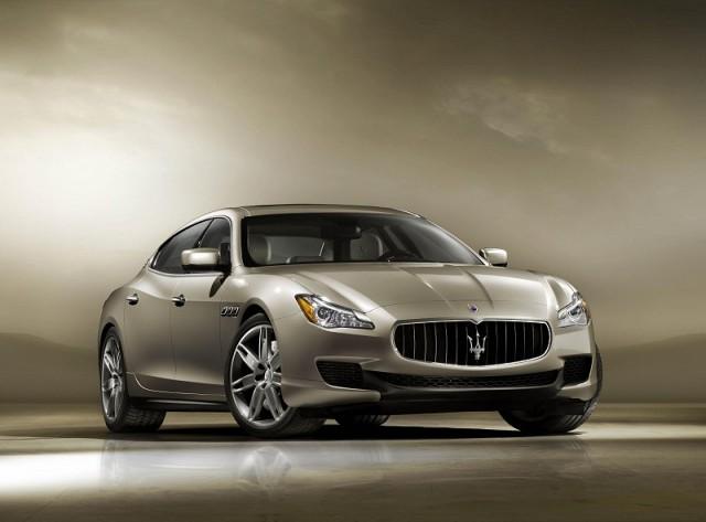 New Maserati Quattroporte revealed. Image by Maserati.