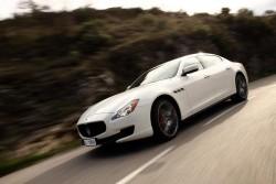 2013 Maserati Quattroporte. Image by Maserati.