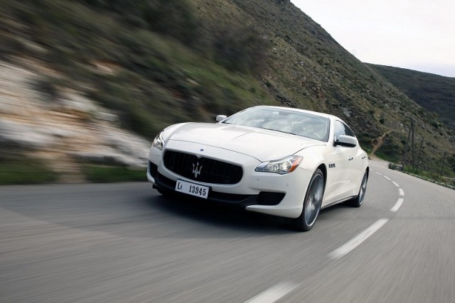 First drive: Maserati Quattroporte. Image by Maserati.