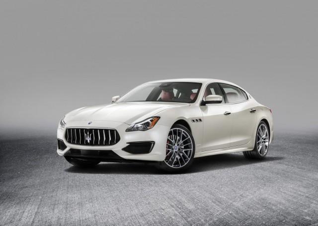 Maserati tidies up Quattroporte. Image by Maserati.