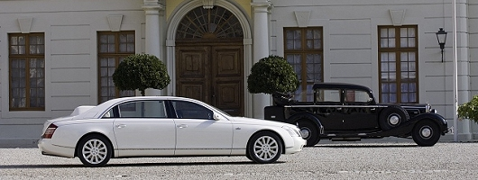 RIP Maybach 2002 - 2013. Image by Maybach.