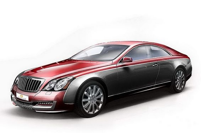 Xenatec Maybach Coupé unveiled. Image by Maybach.