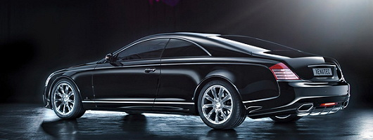 Maybach Coupé official photos arrive. Image by Xenatec.