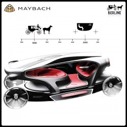 2011 Maybach Berline concept. Image by Maybach.