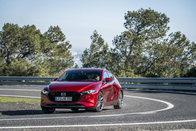First drive: Mazda3 hatchback. Image by Mazda.